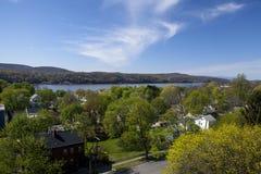 Hudson Valley scénique Image libre de droits