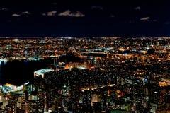 Hudson w Nowy Jork Zdjęcia Royalty Free