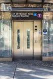 Hudson Yard Subway Station NYC Stock Images