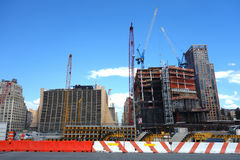 Hudson Yards Royaltyfria Bilder