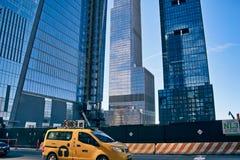 Hudson Yards Construction royalty free stock photos