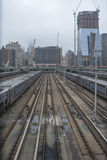 Hudson Yards Station New York stad Royaltyfri Foto