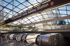 Hudson Yards Subway Extension NYC Royalty Free Stock Photos