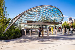 Hudson Yards Subway Extension NYC Stock Images