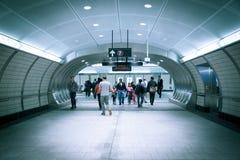 Hudson Yards Subway Station NYC Royaltyfria Foton