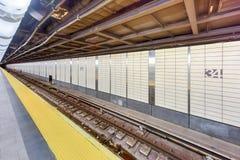 Hudson Yards Subway Station - NYC Foto de archivo libre de regalías