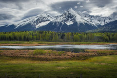 Hudson zatoki góra - Smithers fotografia stock
