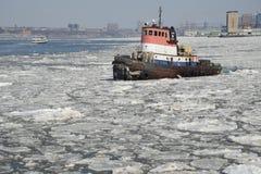 Hudsonu tugboat Zdjęcia Stock