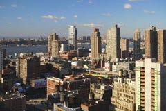 Hudsonu widok, Nowy Jork obraz royalty free