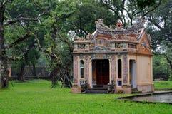 Hue citadel. Beautiful building at Hue citadel, Vietnam Royalty Free Stock Image