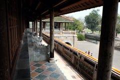 Hue Citadel, culture heritage, Dai Noi, vietnam, ngo mon Royalty Free Stock Photos