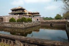 Hue Citadel, eredità della cultura, Dai Noi, Vietnam, ONG lunedì Immagini Stock Libere da Diritti