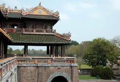 Hue Citadel, eredità della cultura, Dai Noi, Vietnam, ONG lunedì Fotografie Stock Libere da Diritti