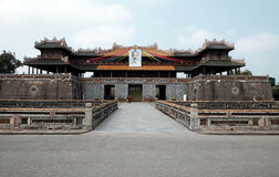 Hue Citadel, héritage de culture, Dai Noi, Vietnam, O.N.G. lundi Image stock