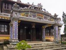 Hue Citadel i Vietnam arkivbild