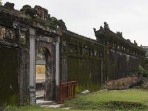 Hue Citadel in Vietnam stock images