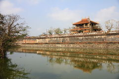 Hue Citadel, Vietnam Royalty Free Stock Photography
