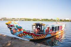 Hue City Dragon Boat fotografia de stock