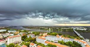 Hue City na tempestade da tarde Foto de Stock Royalty Free