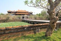 Hue Complex de Hue Monuments en Vietnam Imágenes de archivo libres de regalías