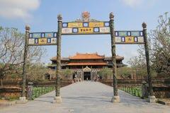 Hue Complex de Hue Monuments en Vietnam Imagen de archivo