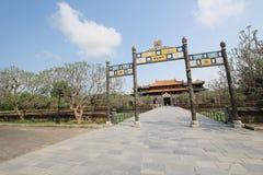 Hue Complex de Hue Monuments en Vietnam Fotografía de archivo