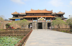 Hue Complex of Hue Monuments in Vietnam Stock Photo