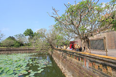 Hue Complex of Hue Monuments in Vietnam Stock Photography