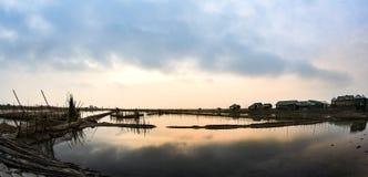 Hue. Dam Chuon lagoon in hue , Viet Nam stock photography