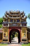 Hue Gate. Gate in Hue Citadel in Vietnam royalty free stock photo