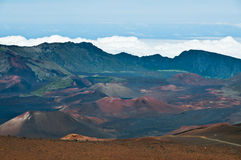 Hue of Haleakala Stock Image