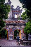 Hue Imperial Citadel Vietnam South East Asia stock image