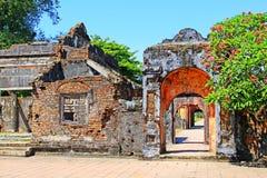 Hue Imperial City arv för Vietnam UNESCOvärld royaltyfria foton