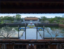 Hue Imperial City (The Citadel), Hue, Vietnam. UNESCO World Heri Royalty Free Stock Photo