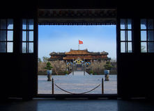 Hue Imperial City (The Citadel), Hue, Vietnam. UNESCO World Heri Stock Photography
