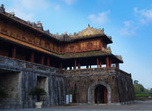Hue Imperial City (The Citadel), Hue, Vietnam. UNESCO World Heri. Hue Imperial City was set up by Nguyen Dynasty from 1805 to 1945. This is a walled fortress and Royalty Free Stock Photography