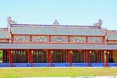 Hue Imperial City, de Werelderfenis van Unesco van Vietnam royalty-vrije stock afbeeldingen