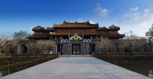 Hue Imperial City (la citadelle), Hue, Vietnam. Monde Heri de l'UNESCO image stock