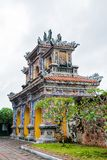 Hue Imperial City, a purple Forbidden City Stock Photography