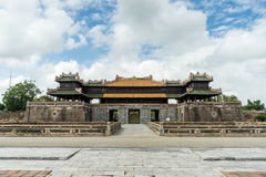 Hue Imperial City Walled Entrance Stock Afbeelding