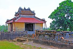 Hue Imperial Tomb of Emperor Thieu Tri, Hue Vietnam UNESCO World Heritage Site Royalty Free Stock Images