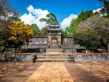 Hue Imperial Tomb Vietnam South East Asia Royalty Free Stock Photo