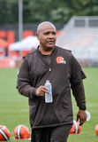 Hue Jackson Head Coach NFL Cleveland Browns Royalty Free Stock Images