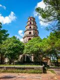 Hue Pagoda Vietnam Vietnam South East Asia. Very much one of the main tourist attractions and points of interest in the area Royalty Free Stock Photography