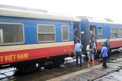 Hue Railway Station en Vietname Imagen de archivo libre de regalías