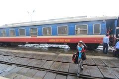 Hue Railway Station i Vietname Royaltyfri Foto
