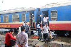 Hue Railway Station in Vietname stock foto