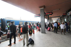 Hue Railway Station in Vietname Lizenzfreies Stockbild