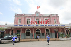 Hue Railway Station Royalty Free Stock Photo