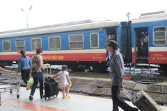 Hue Railway Station Stock Photography